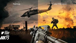 Công nghệ Color Vibrance hỗ trợ gì cho việc trải nghiệm game, đặc biệt là game FPS?