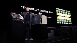 CEO Nvidia đã nướng GPU thế hệ tiếp theo của hãng để chứng minh nó có thể chịu được sức nóng lò nướng