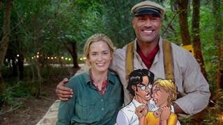 Dwayne Johnson và Emily Blunt góp mặt trong phim siêu anh hùng của Netflix