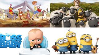 Điểm danh loạt phim hoạt hình chinh phục mọi thế hệ khán giả
