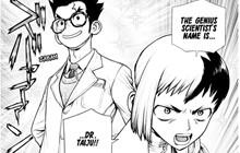 Dự đoán spoiler Dr.Stone chap 152: Dr.Taiju xuất hiện, Gen lừa toàn bộ nhóm của Xeno