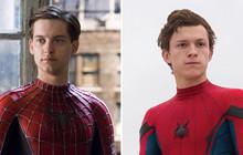 """""""Nhện nhọ"""" Tom Holland dụ dỗ Tobey Maguire bỏ vai """"Spider-Man"""" sang làm chú của mình trong MCU?"""