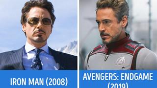 Loạt ảnh ngày ấy - bây giờ của các Avengers nhà Marvel