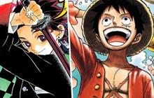 One Piece vượt trội hoàn toàn về doanh số,. Kimetsu No Yaiba tăng 20 triệu bản in trong 2 tháng