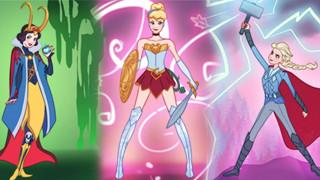 Các công chúa Disney siêu ngầu khi hoá siêu anh hùng