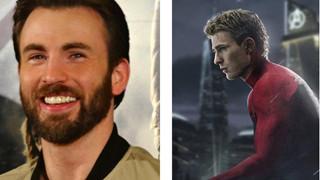 Fan sốc trước tạo hình cực đẹp trai của Captain America khi hóa thân thành Spider-Man