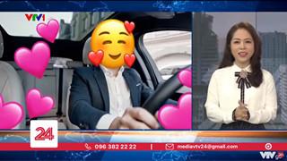 """Biên tập viên của Chuyển Động 24h trên VTV vướng phải tranh cãi khi """"cà khịa"""" Quang Hải nhún nhảy Hồ Tây"""