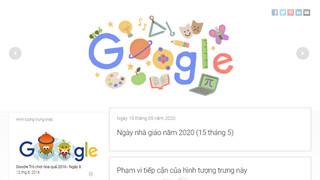 Hướng dẫn: Cách chơi game trên Google Doodles