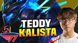 """LMHT: Nhìn Teddy """"vẩy phím"""" với con bài Kalista khiến game thủ nào cũng phải hoảng hồn"""