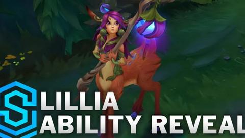 LMHT - Chi tiết bộ kỹ năng của Lillia - Tướng đi rừng khống chế Ngủ diện rộng đáng sợ