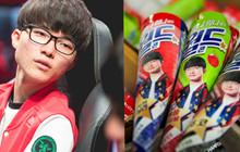 LMHT: Thương hiệu kem của Faker chính thức có mặt tại Hà Nội, game thủ Việt đổ xô nhau đi mua