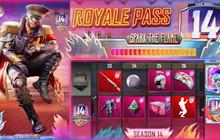 PUBG Mobile: Tất cả phần thưởng của Royale Pass Season 14