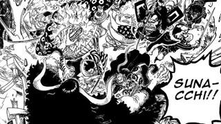 Dự đoán spoiler One Piece 987: Cửu Hồng Bao hi sinh! Tất cả samurai xung trận!