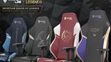 LMHT tung ra series Gaming Chair mới cực chất với phiên bản thánh Yasuo và K/DA hàng hiệu