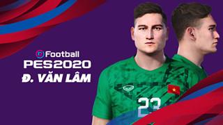 Công Phượng, Văn Lâm và các cầu thủ đội tuyển Việt Nam bất ngờ được game thủ Việt đưa vào PES 20