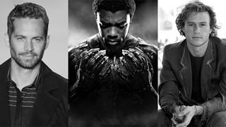 Heath Ledger, Paul Walker và Chadwick Boseman, - Những cú sốc lớn của Hollywood và người hâm mộ