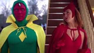 Bí mật đằng sau tạo hình của Scarlet Witch và Vision trong trailer WandaVision