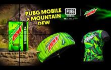 PUBG MOBILE × Mountain Dew: Làm thế nào để có được bộ skin và áo sơ mi độc quyền của Mountain Dew