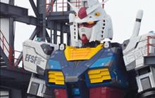 Nhật Bản hoàn thành robot Gundam siêu to khổng lồ, cử động cứ như thật!