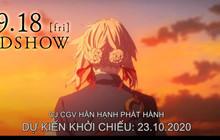 Tin vui: Violet Evergarden The Movie sẽ được công chiếu tại Việt Nam vào tháng 10 bởi CGV!