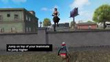 Free Fire: Team Boost Cho phép người chơi nhảy lên đầu đồng đội của họ để bật cao hơn