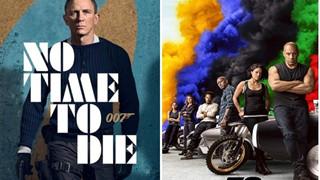 007: No Time to Die và Fast & Furious 9 tiếp tục hoãn chiếu toàn cầu