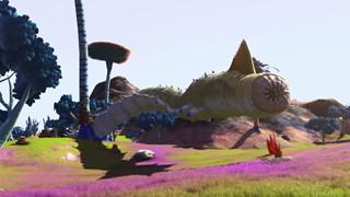 Sau cập nhật, game thủ No Man's Sky rủ nhau đi săn sâu cát khổng lồ