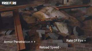 Free Fire: Weapon Royale tiếp theo bị rò rỉ - Skin Gladiator UMP