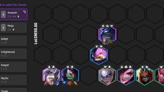 DTCL Mùa 4.5: Hướng dẫn Top đội hình Sát Thủ mạnh nhất bản 11.5 rank Thách Đấu