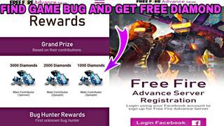 """Free Fire Advance Server : Nhận MIỄN PHÍ 3000 kim cương cho """"thợ săn lỗi"""""""