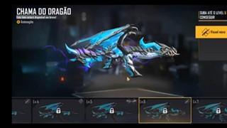 Garena Free Fire tung ra Teaser mới cho dòng skin Blue Flame Dragon AK sắp ra mắt