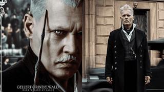 Johnny Depp vẫn nhận đủ catxe triệu USD dù bị cắt vai khỏi Fantastic Beasts 3?