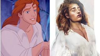 """Loạt fan-art nhan sắc đời thực khiến chị em """"rụng trứng"""" của các hoàng tử Disney"""