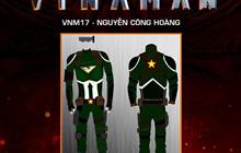 VINAMAN: Lộ diện một số thiết kế trang phục ấn tượng của siêu anh hùng Việt Nam
