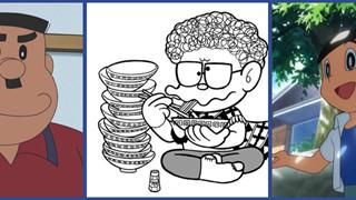 Đọc Doraemon nửa thế kỉ, bạn có biết về 5 nhân vật bí ẩn này: Nguồn gốc chú ăn mì tôm và hơn thế nữa!