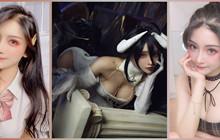 """Nữ coser hóa thân Albedo Overlord khiến fan """"Quá-Nhiệt""""! Không cosplay còn xinh đẹp hơn!"""