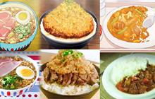 Đói cồn cào với những phiên bản đời thực của các món ăn trong anime