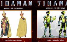 VINAMAN: Công bố hai bộ giáp sẽ xuất hiện trong phim về siêu anh hùng Việt Nam