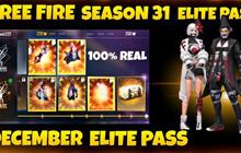 Garena Free Fire: Phần thưởng Elite Pass Season 31 bị rò rỉ, ngày phát hành và hơn thế nữa