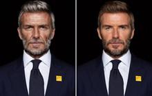 David Beckham bất ngờ hoá thành ông lão 70 tuổi trong chiến dịch chống lại bệnh sốt rét