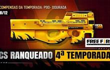 Free Fire: Golden P90 là Phần thưởng cho Clash Squad Season 4; P90 nhận được một cải tiến trong OB25