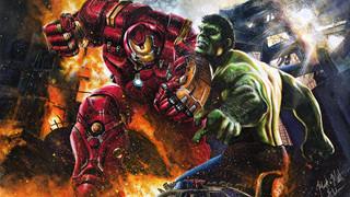 """Vì sao Hulk lại bị Iron Man """"cho ăn hành"""" trong Age of Ultron?"""