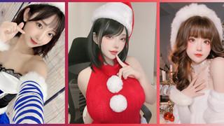 """Nóng mặt với loạt ảnh cosplay """"bà già Noel"""" mừng giáng sinh của các coser hàng đầu Châu Á"""