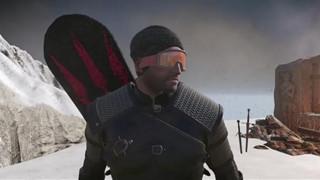 The Witcher 3 tiếp tục có Mod mới, biến Geralt thành cao thủ trượt tuyết