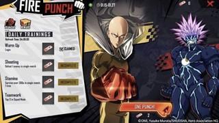 Free Fire: Cách hoàn thành sự kiện Fire Punch và nhận phần thưởng theo chủ đề One-Punch độc quyền