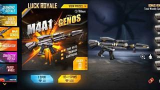 Garena Free Fire: Làm thế nào để có được Skin M4A1 Genos mới từ Weapon Royale?