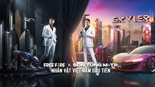 Free Fire x Sơn Tùng MTP: Kỹ năng và chi tiết của nhân vật Skyler mới