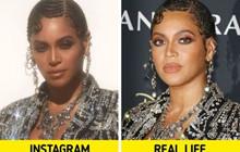 Bóc trần sự khác nhau một trời một vực giữa ảnh Instagram và thực tế của sao Hollywood