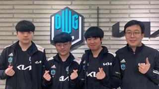 LMHT: Trang Twitter của đội tuyển DWG KIA bất ngờ like video 18+ trước sự chứng kiến của người hâm mộ