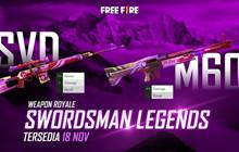 Free Fire: Làm thế nào để có được Skin SVD Swordsman Legends độc quyền?